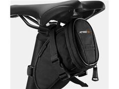 Bolsa de Selim Atrio para Bicicleta Preta Capacidade 1 Litro - 1