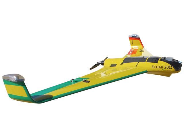Drone XMobots Echar 20D Cana BVLOS RTK HAG L1 L2 L5 Voo acima de 120m