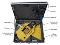 Drone XMobots Echar 20D VLOS com RTK HAG L1 L2 L5 Voo até 120m - 4