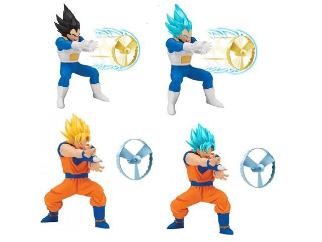 Boneco Dragon Ball Super Colecionável Mecanismo Lançador 18cm Sortido
