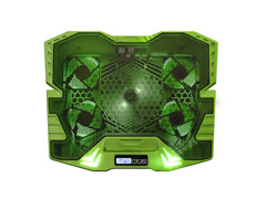 Cooler Gamer para Notebook Multilaser Warrior AC292 com Led Verde - 2