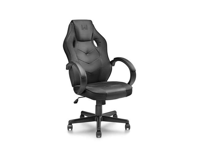 Cadeira Gamer Warrior com Função Basculante Suporta até 120Kg Preta