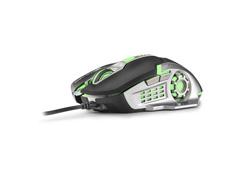 Mouse Gamer Multilaser MO269 2400DPI com 6 Botões Grafite e Preto - 2