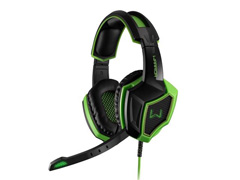 Headset Gamer Multilaser Warrior Ares PH224 USB 7.1 Surround 3D Verde