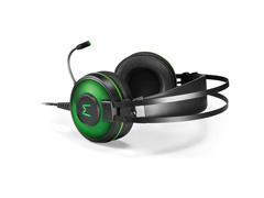 Headset Gamer Warrior Raiko PH259 USB 7.1 3D DigitalSurround LED Verde - 2