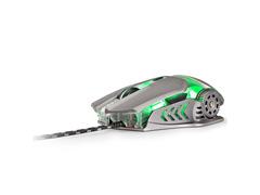 Combo Mutltilaser Warrior Teclado e Mouse Gamer Superfície em Metal - 6