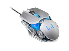 Combo Mutltilaser Warrior Teclado e Mouse Gamer Superfície em Metal - 3