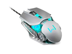 Combo Mutltilaser Warrior Teclado e Mouse Gamer Superfície em Metal - 4