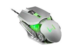 Combo Mutltilaser Warrior Teclado e Mouse Gamer Superfície em Metal - 5