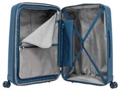 Mala de Viagem Samsonite Varro Azul Pavão Média - 6
