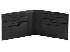 Carteira Samsonite Pro DLX 4S SGL Dupla para 8 Cartões Preta