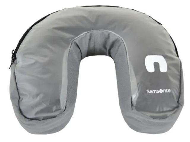 Travesseiro para Viagem Samsonite Cinza