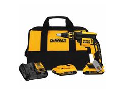 "Parafusadeira Drywall DeWalt Brushless 1/4"" c/ 2 Baterias 20V 2Ah"