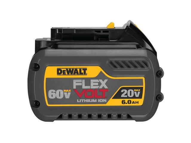 Bateria de Litio 20V/60V MAX 6.0AH FLEXVOLT DCB606-B3 DEWALT