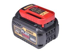 Bateria DeWalt 20V / 60V Flexvolt Li-Ion 6,0Ah com Indicação a LED - 1