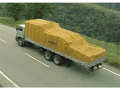 Lona de Cobertura para Cargas Locomotiva Encerado 08 Caqui 12x8M - 5