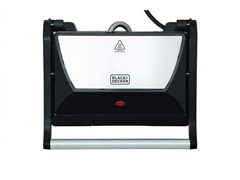 Grill Elétrico Black&Decker Antiaderente e Bandeja Coletora 750W - 1