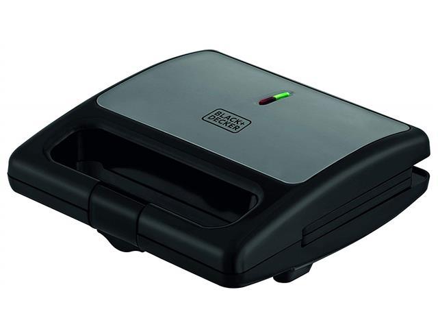 Sanduicheira Elétrica Black&Decker Preta 750W