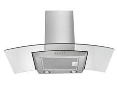 Coifa de Vidro Multilaser 2 Lâmpadas LED para 6 Bocas 90cm 234W - 1