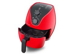 Fritadeira Elétrica Air Fryer Multilaser 4 Litros Vermelha 1500W - 1