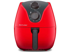 Fritadeira Elétrica Air Fryer Multilaser 4 Litros Vermelha 1500W - 3
