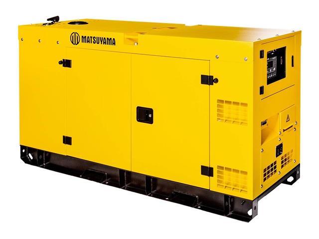 Gerador de Energia à Diesel Matsuyama Silenciado 19 KVA Trifásico 220V