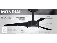 Ventilador de Teto Mondial Maxi Air VTE-03 Preto - 3