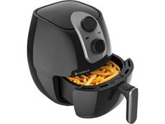 Fritadeira Elétrica Sem Óleo Cadence Cook Fryer 2,6L Preta 1250W - 1