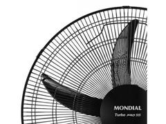 Ventilador de Mesa Mondial Turbo Pro 55 Preto 5 Pás Bivolt - 1