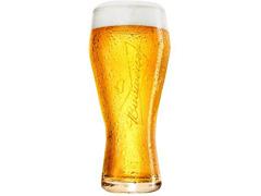 Jogo de Copos de Vidro para Cerveja Budweiser 2 Unidades de 400ml - 1