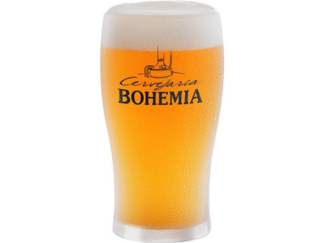 Copo de Vidro para Cerveja Cervejaria Bohemia 340ML