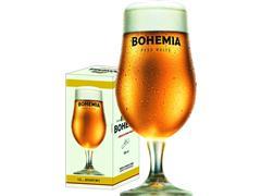 Taça de Vidro para Cerveja Bohemia Puro Malte 380ML - 1