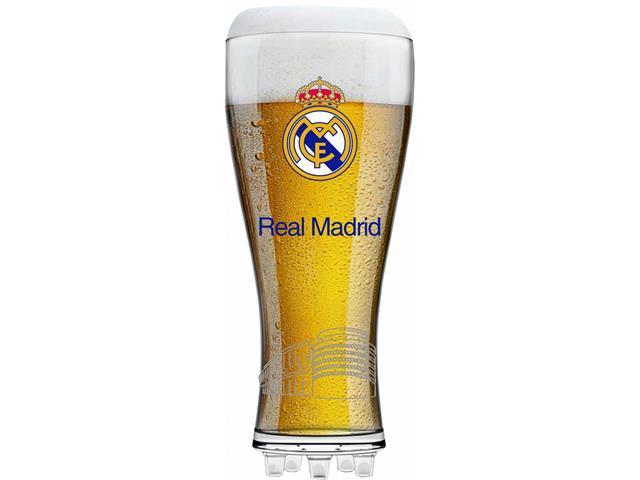 Copo de Vidro para Cerveja Real Madrid 370ML