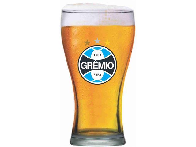 Copo de Vidro para Cerveja Grêmio 470ML