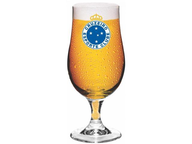 Taça Munique de Vidro para Cerveja Cruzeiro 380ML