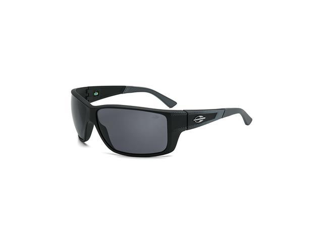 Óculos de Sol Mormaii Joaca III Preto e Cinza Fosco Lente Cinza
