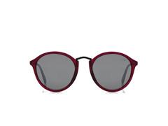 Óculos de Sol Mormaii Cali Burgundy Fosco Lente Cinza Flash Prata - 2