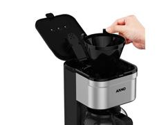 Cafeteira Elétrica Arno Preferita Inox 750ML - 3