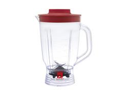 Liquidificador Arno Power Mix Limpa Fácil Vermelho 2,5 Lts 550W - 3