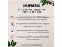 Cafeteira Nespresso Automática Pixie D61 Kit Boas Vindas Alumínio - 1