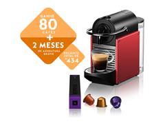 Cafeteira Nespresso Automática Pixie D61 Vermelho Carmine - 0
