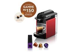 Cafeteira Nespresso Automática Pixie D61 Vermelho Carmine