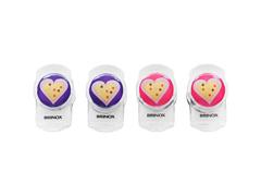Clip Magnético Multiuso Brinox Coração Verona 4 Peças
