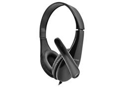 Headset Multilaser Business com Conexão P2 para Notebook e PC Preto