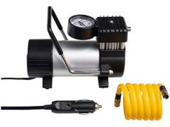 Compressor de Ar Automotivo Multilaser 100PSI com 3 Bicos Preto 12V - 1