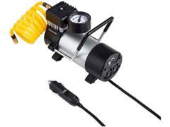 Compressor de Ar Automotivo Multilaser 100PSI com 3 Bicos Preto 12V - 2