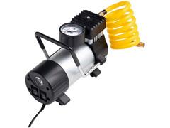 Compressor de Ar Automotivo Multilaser 100PSI com 3 Bicos Preto 12V - 3
