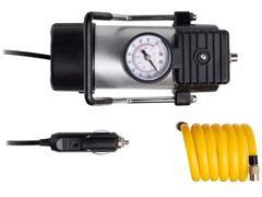 Compressor de Ar Automotivo Multilaser 100PSI com 3 Bicos Preto 12V - 4