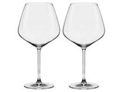 Conjunto Oxford Com 2 Taças de Cristal Bourgogne Athenas Classic 950ml