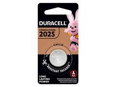 Bateria de Lítio Metálico Duracell CR 2025